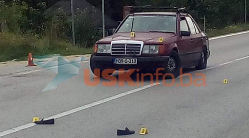 """""""Mercedesom"""" pokosio pješaka, saobraćaj bio potpuno obustavljen (FOTO)"""