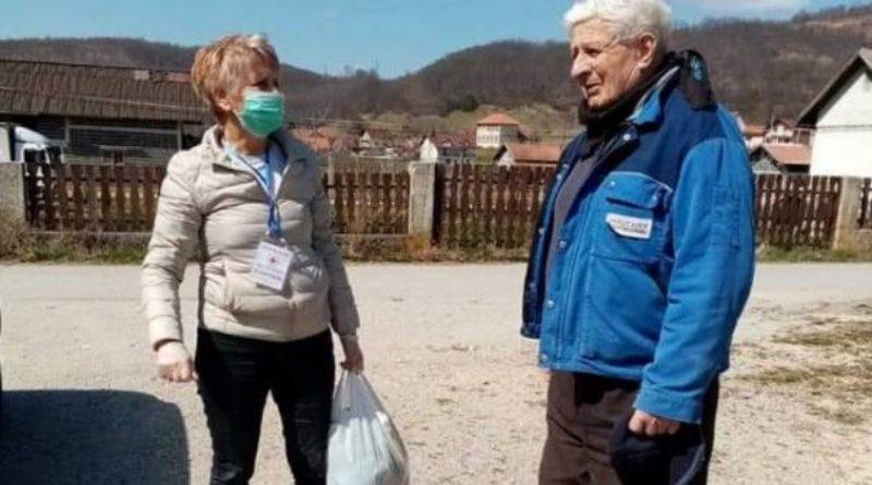 Penzionerka iz Gornjeg Vakufa-Uskoplja pomaže u borbi protiv koronavirusa