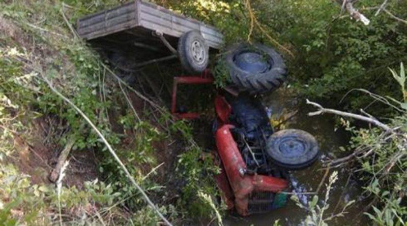 U prevrtanju traktora poginuo otac četvero djece