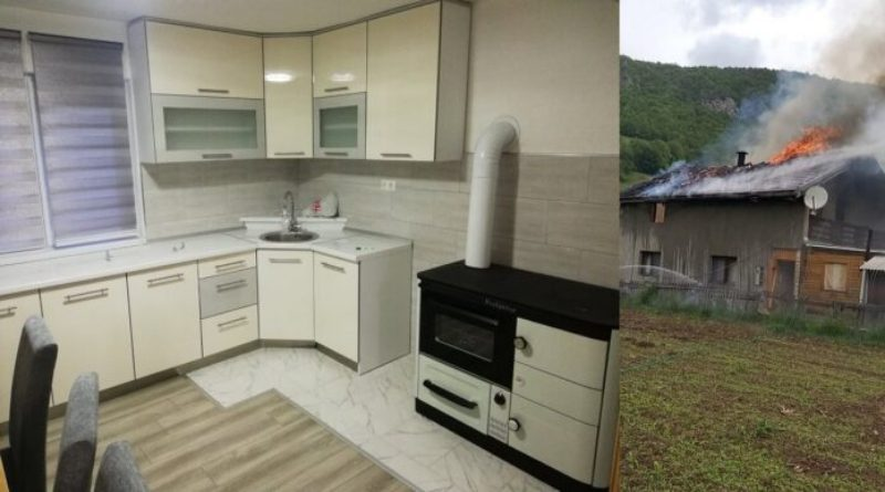 BUGOJNO: Porodica Čehaja, kojoj je izgorila kuća, sada u novom domu