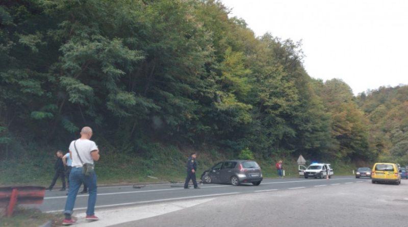Saobraćajna nesreća u blizini Lašvanske petlje kod Zenice