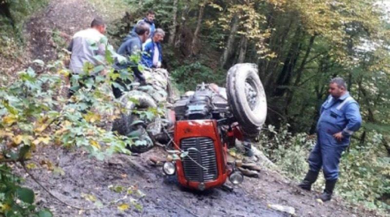 GORNJI VAKUF-USKOPLJE: Poginuo u prevrtanju traktora (FOTO+VIDEO)
