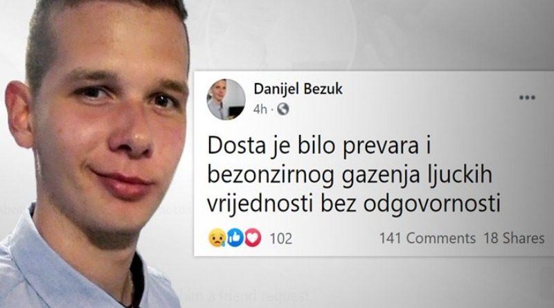 ZAGREB: Ovo je 22-godišnjak koji je upucao policajca na Markovom trgu pa se ubio