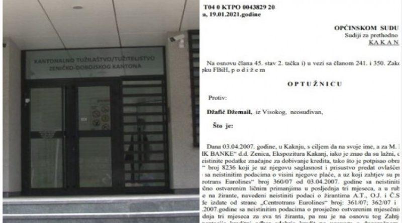 """Visočanin sve slagao u zahtjevu za kredit i """"olakšao"""" banku za 20.000 maraka"""